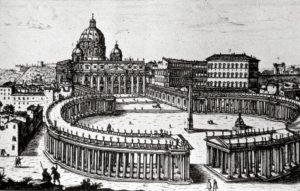Progetto di piazza San Pietro